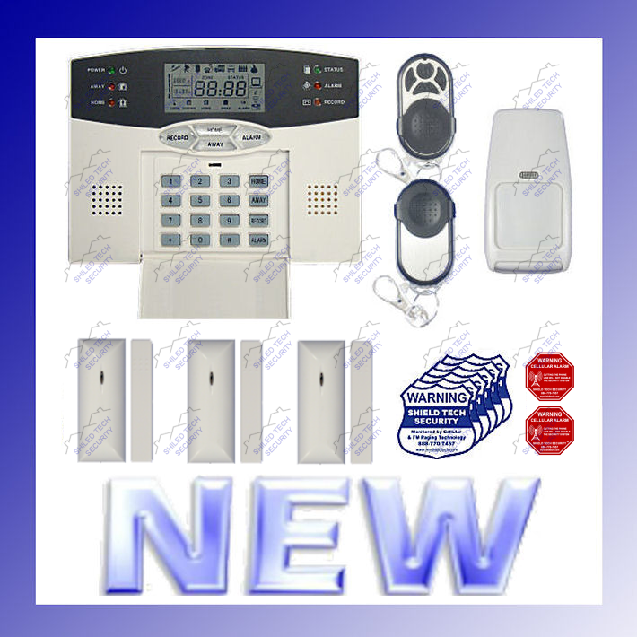 Shield Tech Security - WIRELESS ALARM SECURITY SYSTEM w/ AUTO-DIALER For HOME / OFFICE BURGLAR / Fire at Sears.com