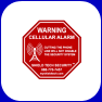 Cellular Alarm Decal